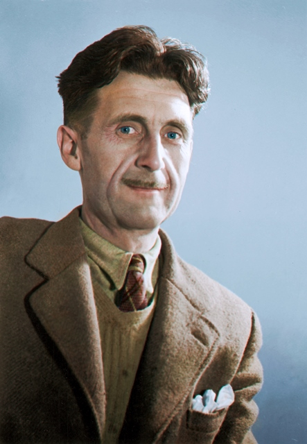 George Orwell c. 1940 wikimedia commons